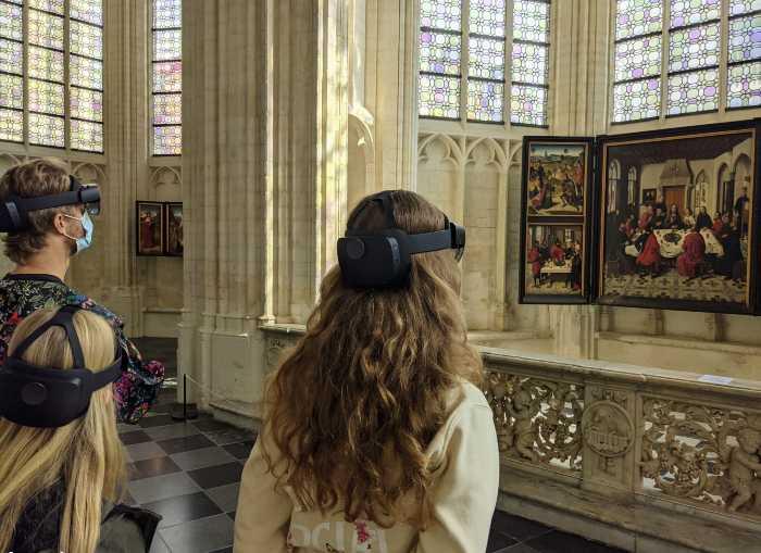 Sint Pieterskerk met hololens