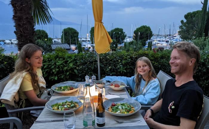 Eten, overnachten in Montreux