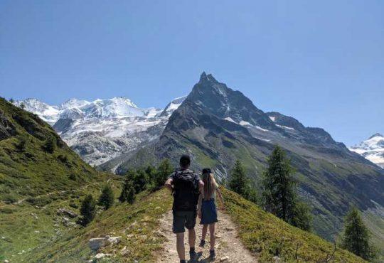 Wandelen wallis Zwitserland met kinderen