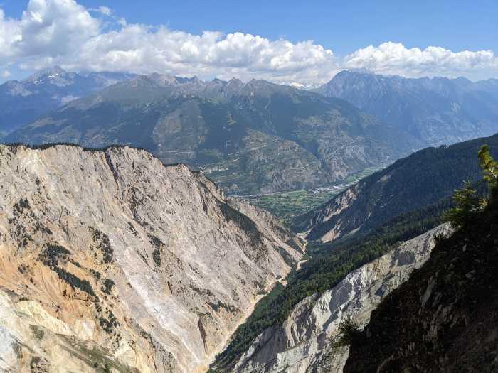Illgraben Zwitserland
