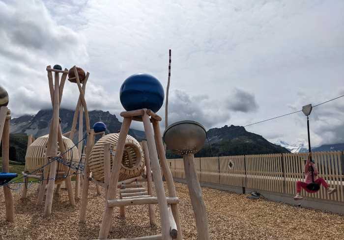 Tignousa speeltuin Zwitserland