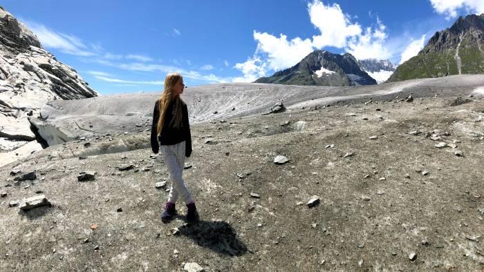 Gletsjerwandeling met kinderen