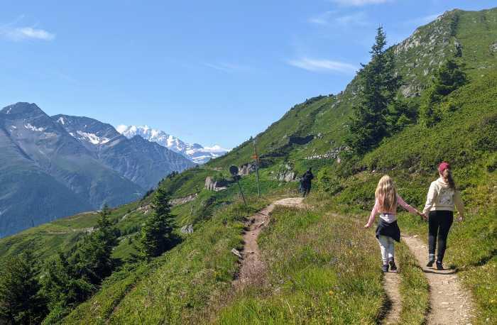 Hiking Aletsch gletsjer